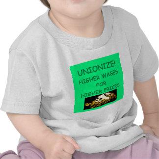 anti union tee shirts
