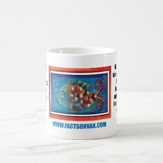 Anti-Vaccine Art Fish Happy Health Autism Mug