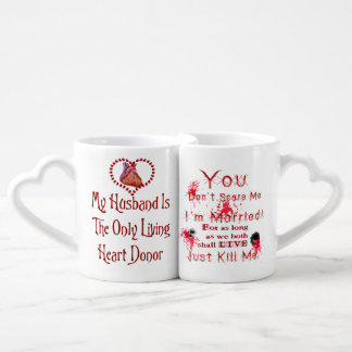 Anti Valentine Coffee Mug Set