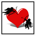 Anti-Valentine - Cupid's Duel (Add your Text) Cut Outs