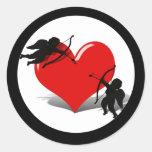 Anti-Valentine - Cupid's Duel (Add your Text) Sticker