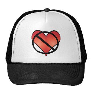anti valentine trucker hat
