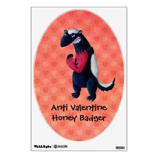 Anti Valentine Honey Badger Room Graphics