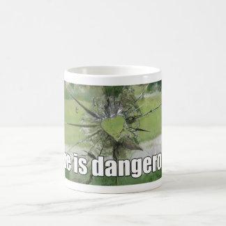 Anti-Valentine Love Is Dangerous Coffee Mug