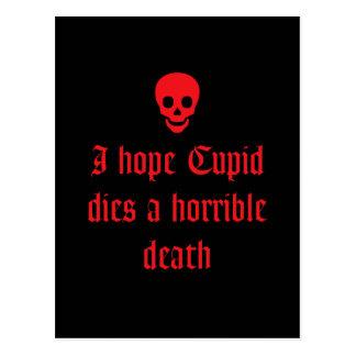 Anti Valentine s Day Postcard