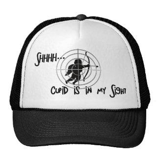 Anti-Valentine - SHHHHH Cupid in Sight Trucker Hat