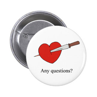 Anti Valentines Buttons