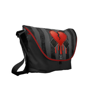 Anti Valentine's Courier Bag
