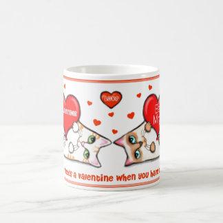 Anti Valentine's Day Cat Lovers Coffee Mug