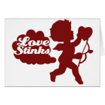 Anti-valentines day Cupid Greeting Cards