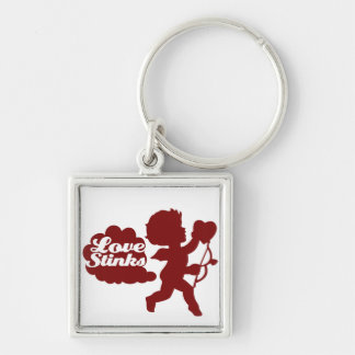 Anti-valentines day Cupid Keychain