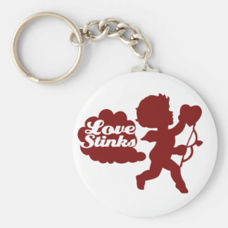 Anti-valentines day Cupid Key Chains