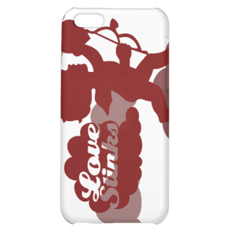 anti-valentines day Cupid Love stinks iPhone 5C Covers