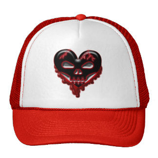 Anti-Valentine's Day: Doomed Heart Trucker Hat