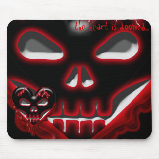 Anti-Valentine's Day: Doomed Heart Mousepad
