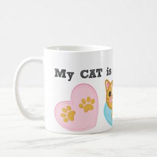 Anti Valentine's Day Ginger Cat Lover's Mug