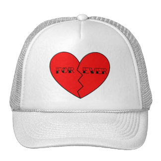 Anti-Valentine's Day Mesh Hats