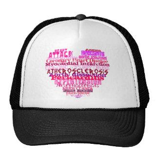 Anti Valentine's Day Heart Hats