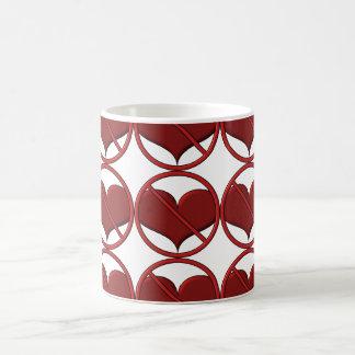Anti Valentine's Day Heart: S.A.D. by Sonja A.S. Coffee Mug