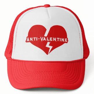 Anti-Valentines Day Heartbreaker hat