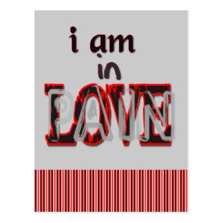 Anti-Valentine's Day In Love Pain Postcard