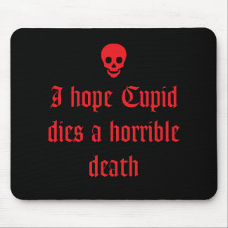 Anti Valentine's Day Mousepads