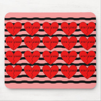 Anti-Valentine's Day Mouse Pads