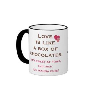 Anti Valentine's Day Mug mug