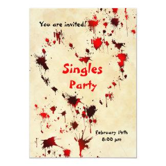 Anti- Valentine's Day Party invitation