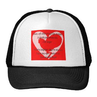 Anti-Valentine's Day Poem Trucker Hat