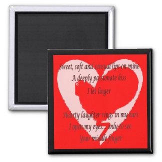 Anti-Valentine's Day Poem Magnet
