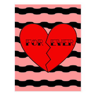 Anti-Valentine's Day Postcard