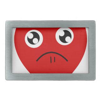 anti valentines day rectangular belt buckle