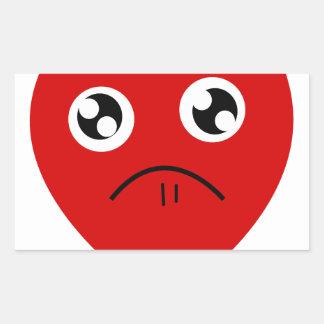 anti valentines day rectangular sticker