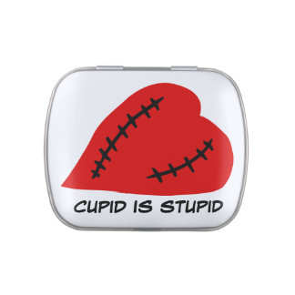 Anti-Valentine's Day: Stupid Cupid Candy Tin