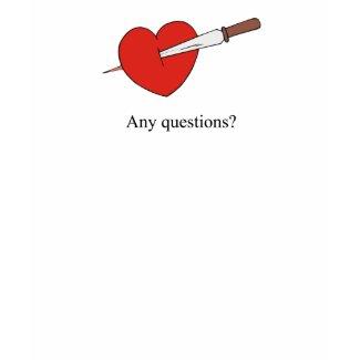 Anti-Valentines Day T-shirt shirt