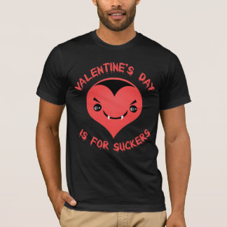 Anti Valentine's Day Vampire Heart T-Shirt