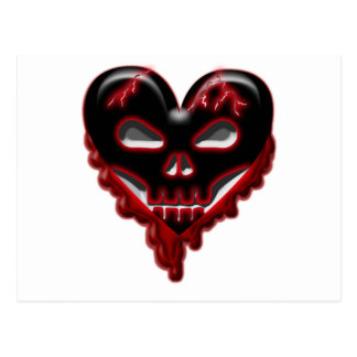 Anti-Valentines: Doomed Heart Postcard