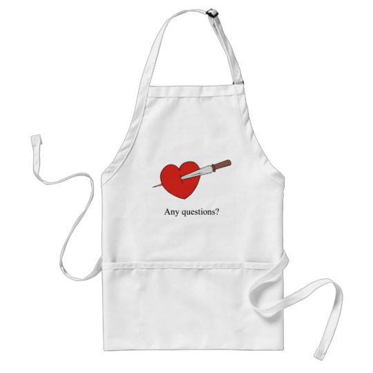 Anti Valentines Gifts Adult Apron