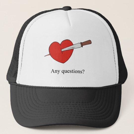 Anti Valentines Gifts Trucker Hat