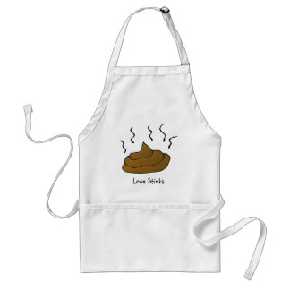 Anti-Valentines: Love is just a bunch of crap Adult Apron