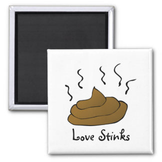 Anti-Valentines: Love is just a bunch of crap Fridge Magnet