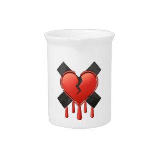 Anti Valentine's Drink Pitcher