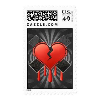 Anti Valentine's Postage Stamp