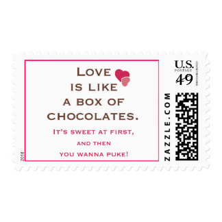 Anti Valentines Stamp