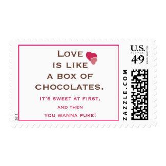Anti Valentines Stamp