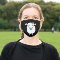 Anti Vax Sheep Vaccination Adult Cloth Face Mask