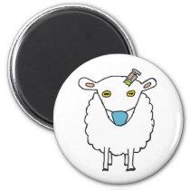 Anti Vax Sheep Vaccination Magnet