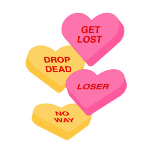 Candy Hearts Valentines Day Posters Photo Prints Zazzle