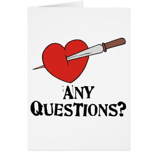 Anti-Vday Greeting Cards